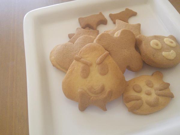 おにぎりおくんのクッキー