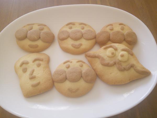 アンパンマンクッキー[キャラスイーツ・キャラケーキ]