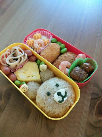 くまちゃん弁当