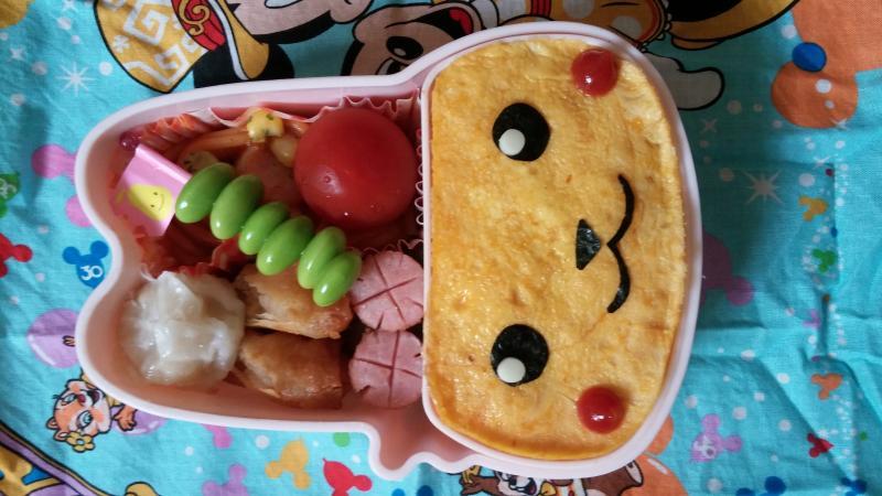 簡単ピカチュウオムライス弁当★