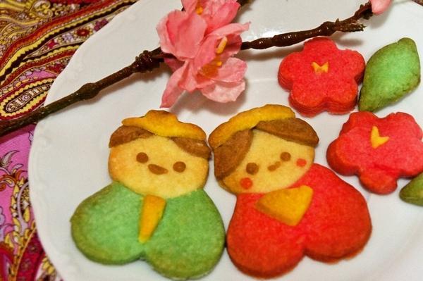 ひな祭りに✿ハート形でプックリ可愛い雛人形[キャラスイーツ・キャラケーキ]