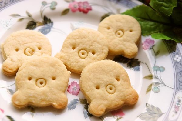 クッキー型クマさんdeかわいいタコさんクッキー[キャラスイーツ・キャラケーキ]
