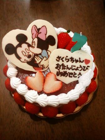 ミッキー&ミニーケーキ
