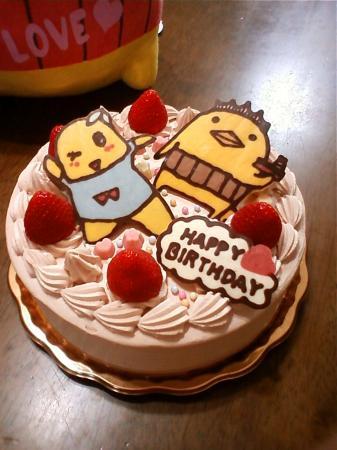ふなっしー&バリィさんケーキ