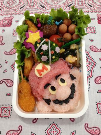 マリオ弁当の作り方(レシピ) その5