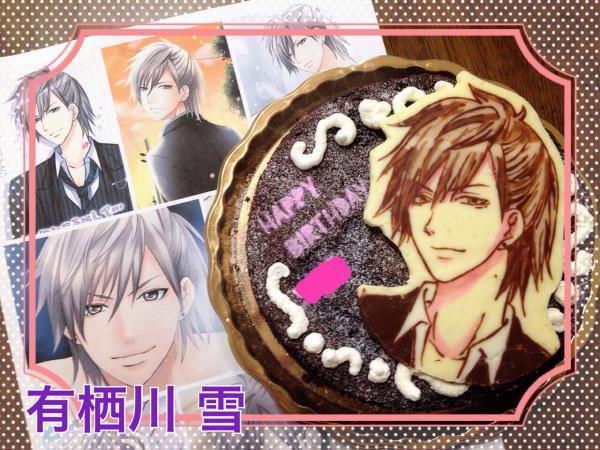 怪盗X 有栖川雪ケーキ