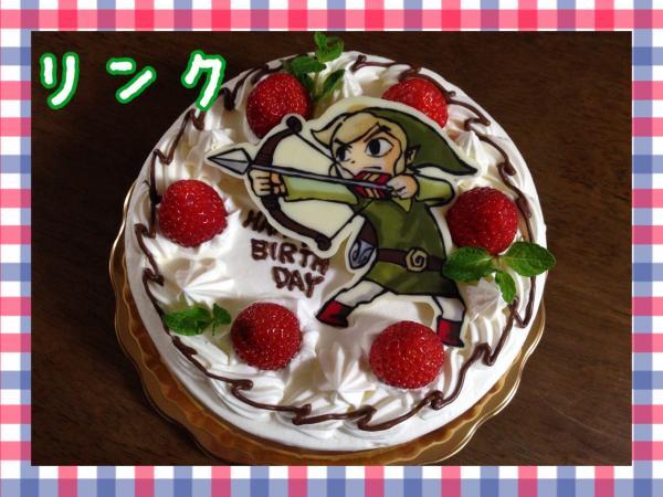 ゼルダの伝説 リンクケーキ