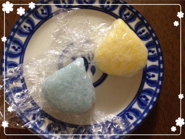 ほっぺちゃん&スライム弁当の作り方(レシピ) その1