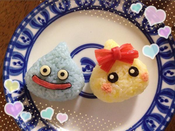 ほっぺちゃん&スライム弁当の作り方(レシピ) その6