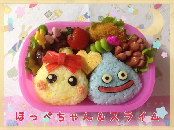 ほっぺちゃん&スライム弁当の作り方(レシピ) その7