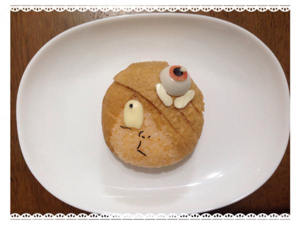ゲゲゲの鬼太郎弁当の作り方(レシピ) その3