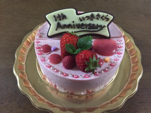 マトリ青山樹アニバーサリーケーキ