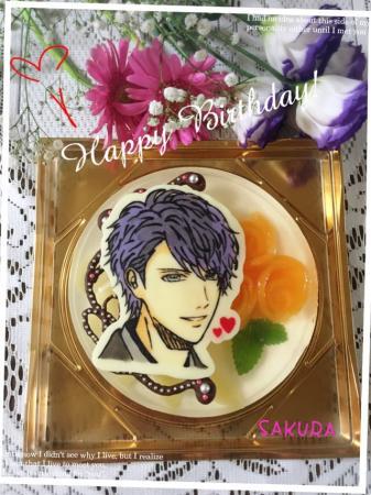 青山樹さんバースデーケーキ