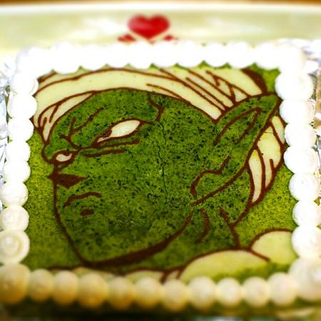 ドラゴンボール・ピッコロキャラケーキ