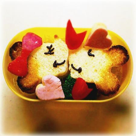 ミッキー&ミニーサンドイッチ弁当