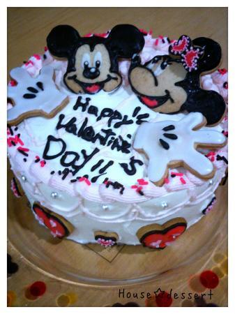 ミッキー&ミニーのケーキ♪