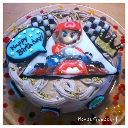 マリオカートキャラケーキ♪