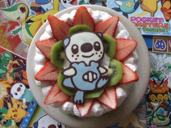 お誕生日に!ミジュマルケーキ![キャラスイーツ・キャラケーキ]