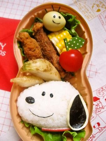 スヌーピーのお弁当