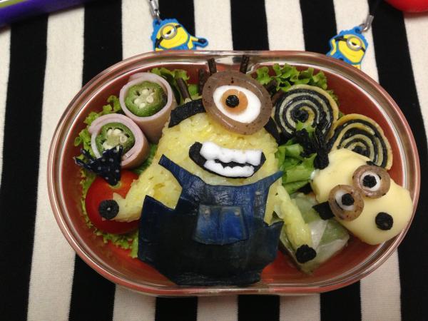 怪盗グルーのミニオン危機一発のお弁当