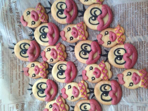 オバケのQ太郎とピー子のクッキー