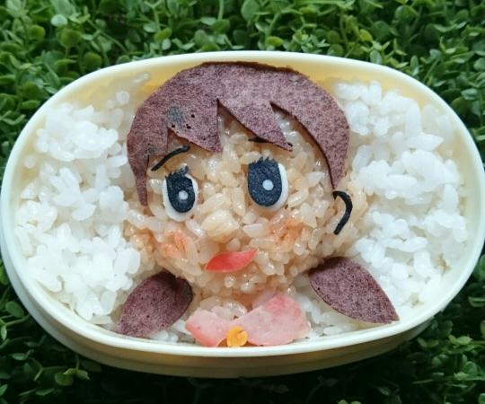 しずかちゃんのお弁当(ドラ付き)