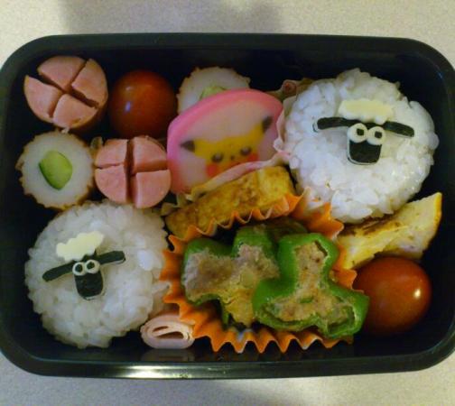 お弁当☆ひつじのショーン