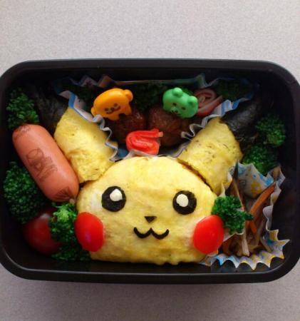 お弁当☆ピカチュウ