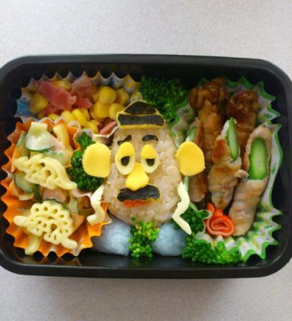お弁当☆ポテトヘッド