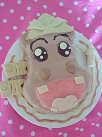 かばおくんケーキ