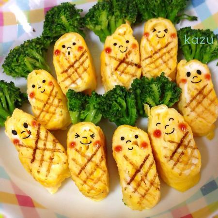 パイナップルな卵焼き