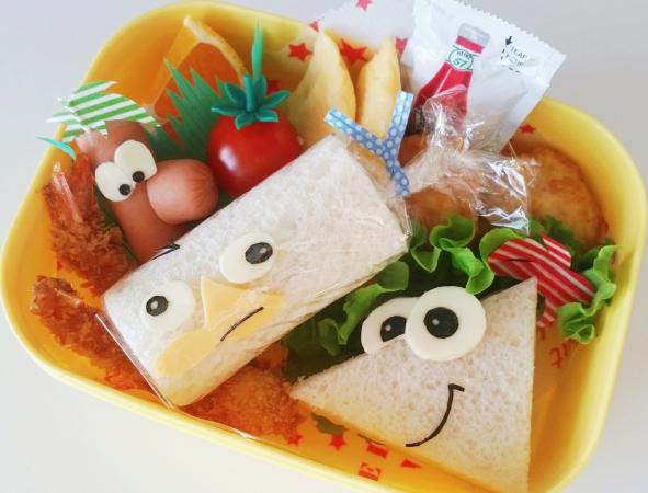 フィニアスとファーブのサンドイッチlunch box