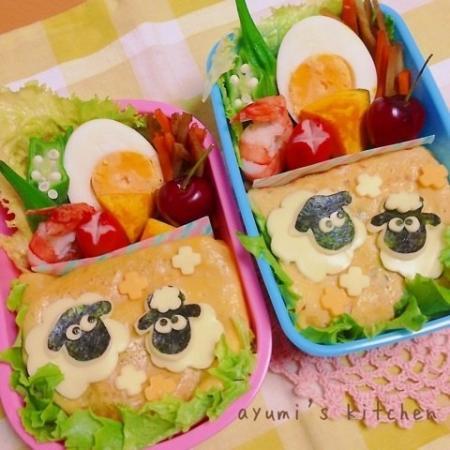 ひつじのショーン弁当☆