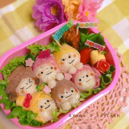 卒園式間近☆みんな大好き弁当♡