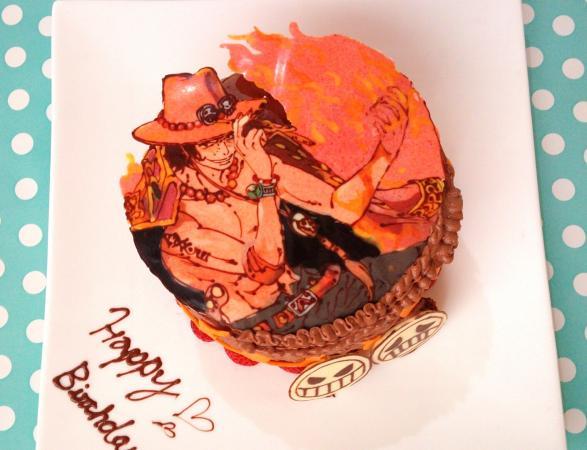 エースのケーキ