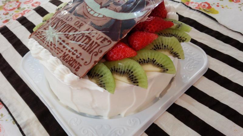 白ひげケーキ