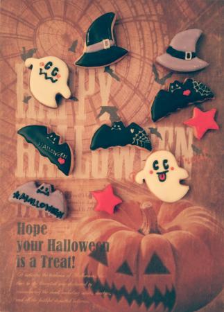 ハロウインアイシングクッキー