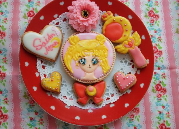 セーラームーンクッキー