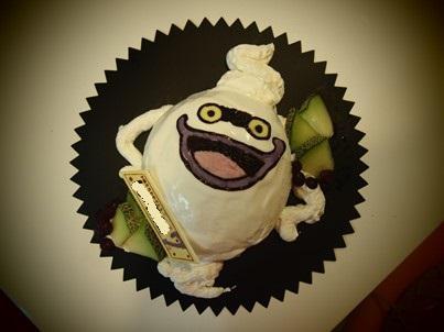 ウィスパーの立体ケーキ