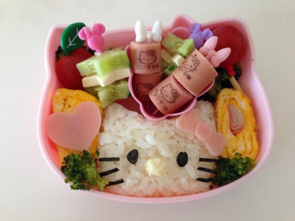 キティちゃんお弁当♪