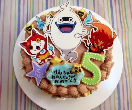 妖怪ウォッチケーキ
