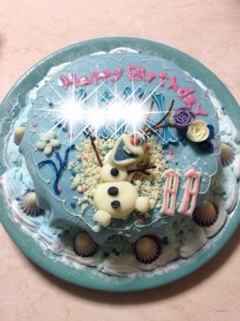 オラフ アイスケーキ