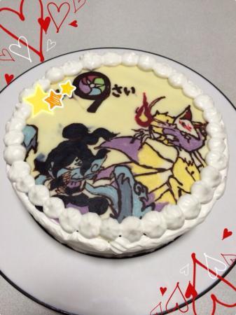 誕生日ケーキ[キャラスイーツ・キャラケーキ]