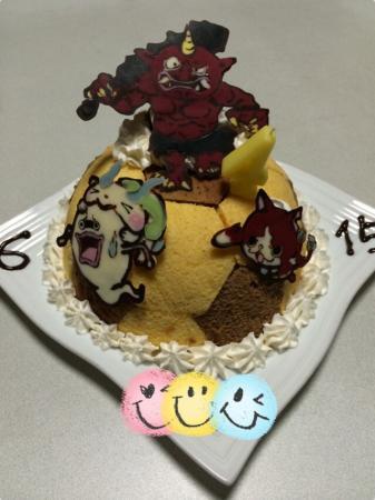 息子の誕生日ケーキ[キャラスイーツ・キャラケーキ]