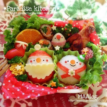 *わくわくクリスマス弁当*