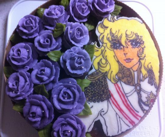 ベルばらケーキ[キャラスイーツ・キャラケーキ]
