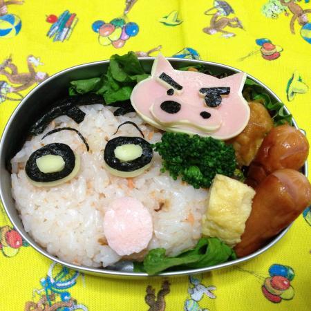 クレヨンしんちゃん弁当