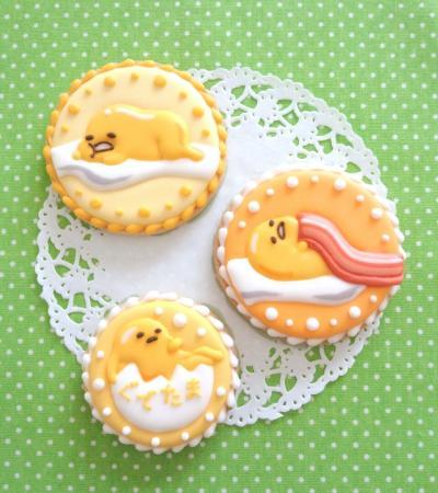 ぐでたまのアイシングクッキー♪[キャラスイーツ・キャラケーキ]