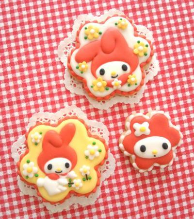 マイメロディのアイシングクッキー♥