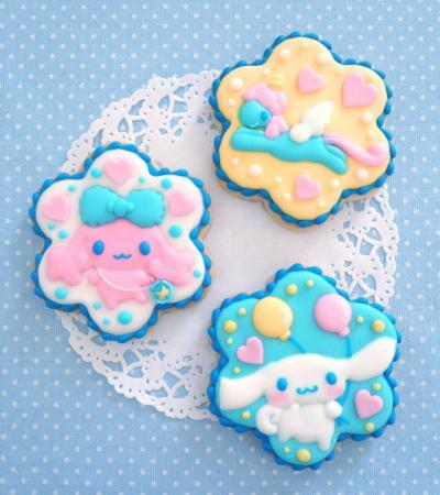 シナモロールのアイシングクッキー☆